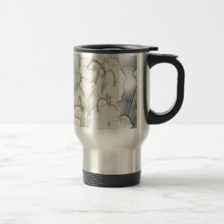 Lily of the Valley Flower Bouquet Travel Mug