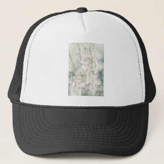 Lily of the Valley Flower Bouquet Trucker Hat