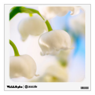 Lily of the Valley Flower Close-up Wall Decal