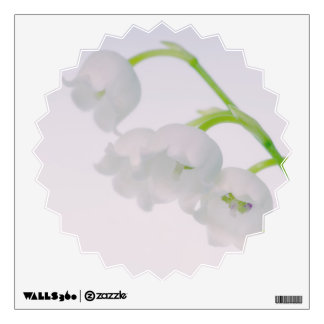 Lily of the Valley Flower Close-up Wall Sticker