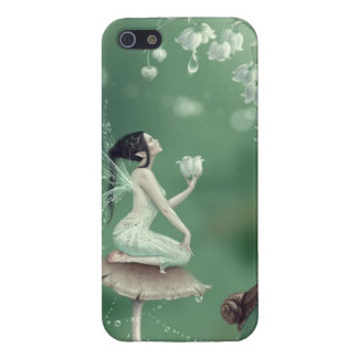 Lily of the Valley Flower Fairy iPhone 5 Case