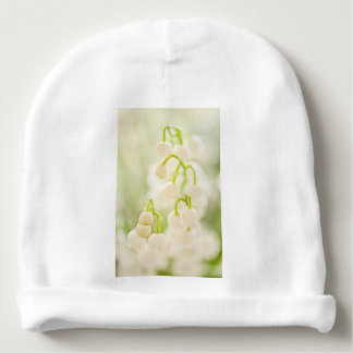Lily of the Valley Flower Group Sketch Baby Beanie