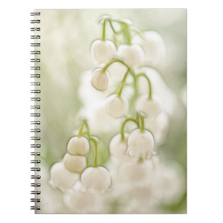Lily of the Valley Flower Notebook
