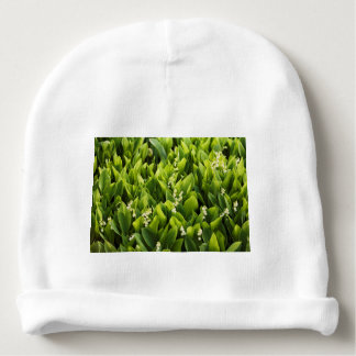 Lily of the Valley Flower Patch Baby Beanie
