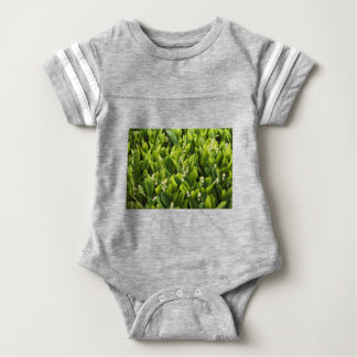Lily of the Valley Flower Patch Baby Bodysuit