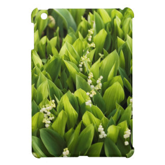 Lily of the Valley Flower Patch Cover For The iPad Mini