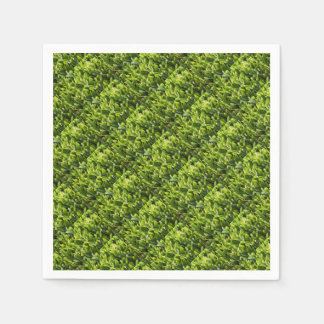 Lily of the Valley Flower Patch Disposable Napkins