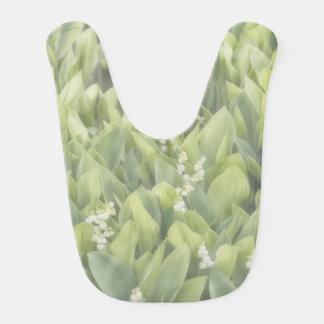 Lily of the Valley Flower Patch in Fog Bib