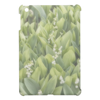 Lily of the Valley Flower Patch in Fog iPad Mini Cover