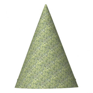 Lily of the Valley Flower Patch in Fog Party Hat