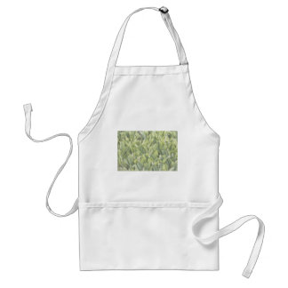 Lily of the Valley Flower Patch in Fog Standard Apron