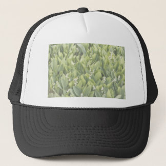 Lily of the Valley Flower Patch in Fog Trucker Hat