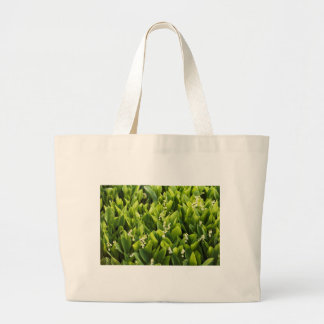 Lily of the Valley Flower Patch Large Tote Bag