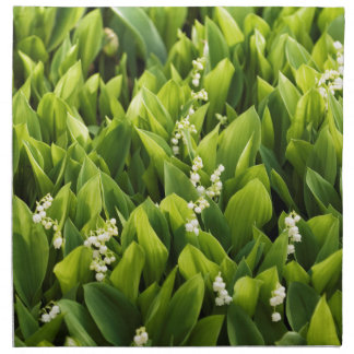 Lily of the Valley Flower Patch Napkin