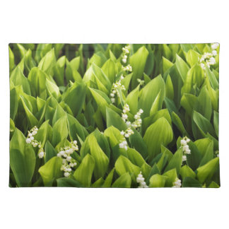 Lily of the Valley Flower Patch Placemat