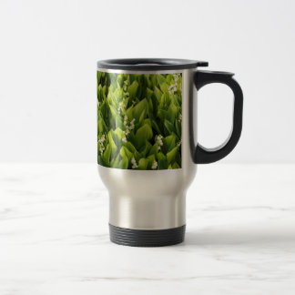 Lily of the Valley Flower Patch Travel Mug