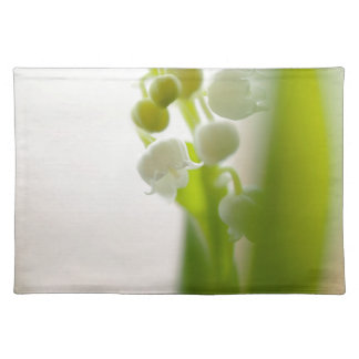 Lily of the Valley Flower Placemat