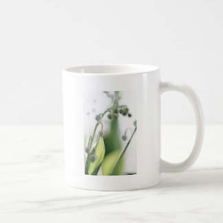 Lily of the Valley Flower Repetition Sketch Coffee Mug