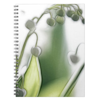 Lily of the Valley Flower Repetition Sketch Notebook