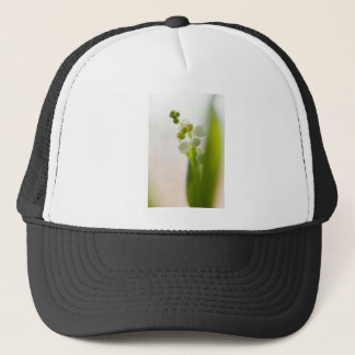 Lily of the Valley Flower Trucker Hat