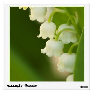 Lily of the Valley Flower Wall Sticker