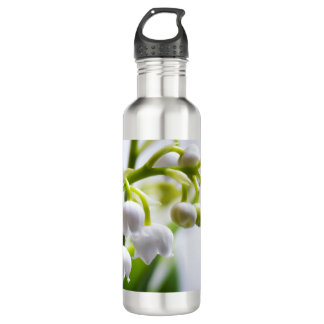 Lily of the Valley Flowers 710 Ml Water Bottle
