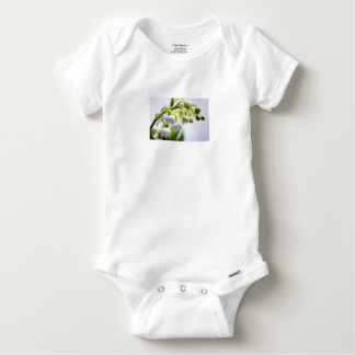 Lily of the Valley Flowers Baby Onesie