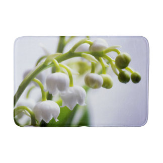 Lily of the Valley Flowers Bath Mat