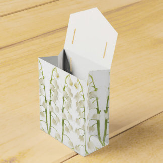 Lily of the Valley flowers Favor Box