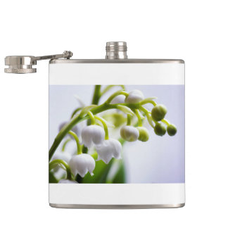 Lily of the Valley Flowers Hip Flask