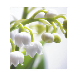Lily of the Valley Flowers Notepad