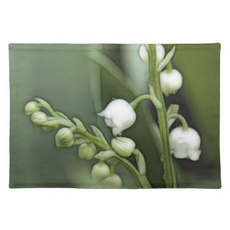 Lily of the Valley Flowers Placemat