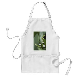 Lily of the Valley Flowers Standard Apron