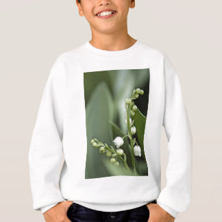 Lily of the Valley Flowers Sweatshirt