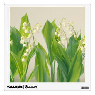 Lily of the Valley Flowers Wall Decal