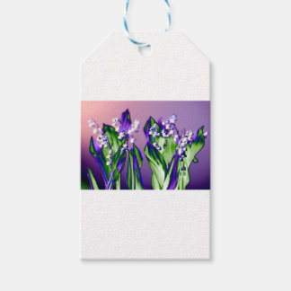 Lily of the Valley in Lavender Pack Of Gift Tags