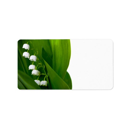 Lily Of The Valley Label