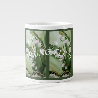 LILY OF THE VALLEY LARGE COFFEE MUG