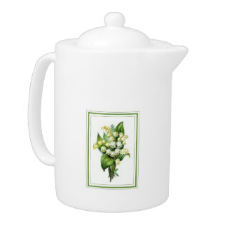 Lily of the Valley Large Teapot