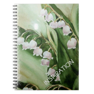 LILY OF THE VALLEY NOTEBOOKS