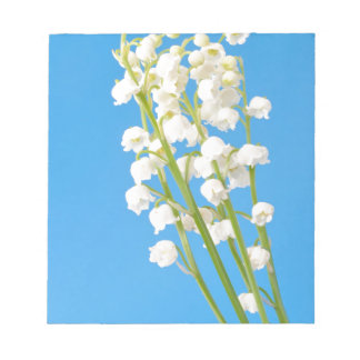 lily of the valley notepad