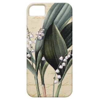 Lily of the valley on pride and prejudice text case for the iPhone 5