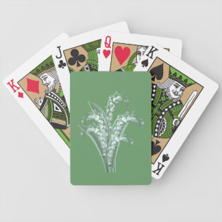 Lily of the Valley Playing Cards