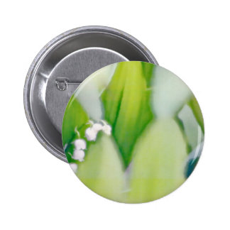 Lily of the Valley Sketch 2 Inch Round Button