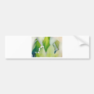 Lily of the Valley Sketch Bumper Sticker