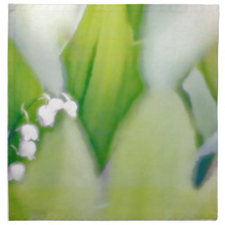 Lily of the Valley Sketch Napkin