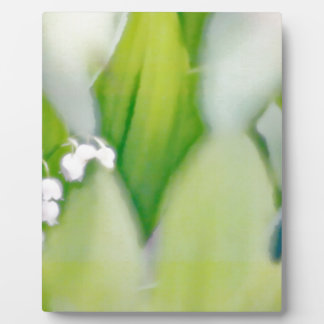 Lily of the Valley Sketch Plaque
