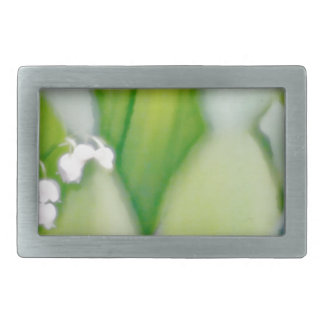 Lily of the Valley Sketch Rectangular Belt Buckle