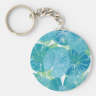 Lily Pad blues Keychain