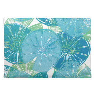 Lily Pad blues Placemat